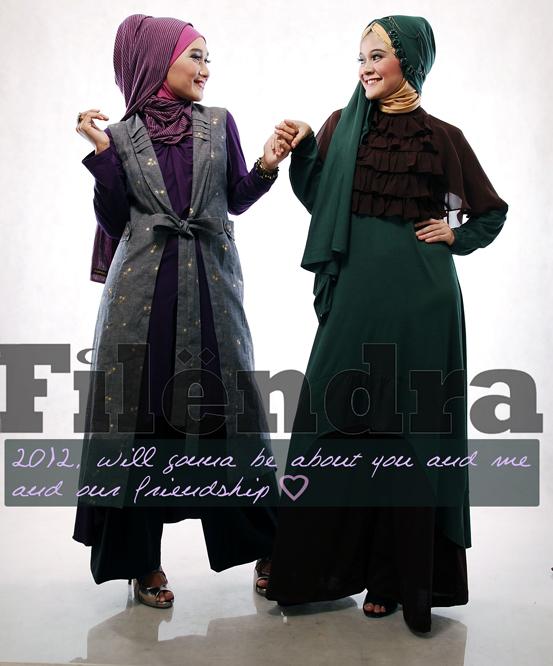 busana muslim filendra katalog february 2012